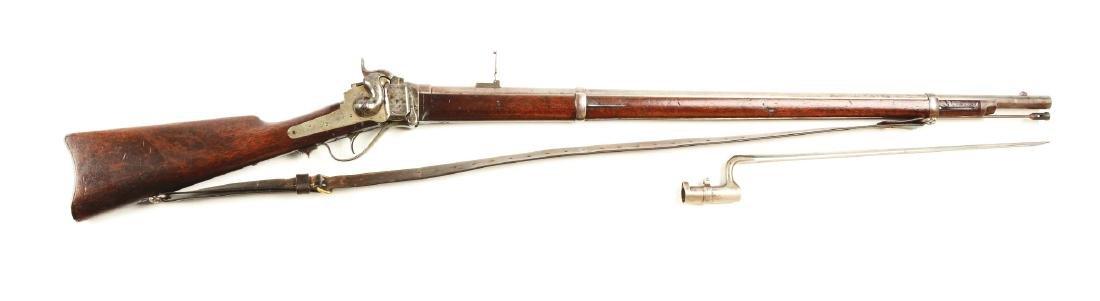 (A) Springfield Altered Sharps Model 1870's Single Shot