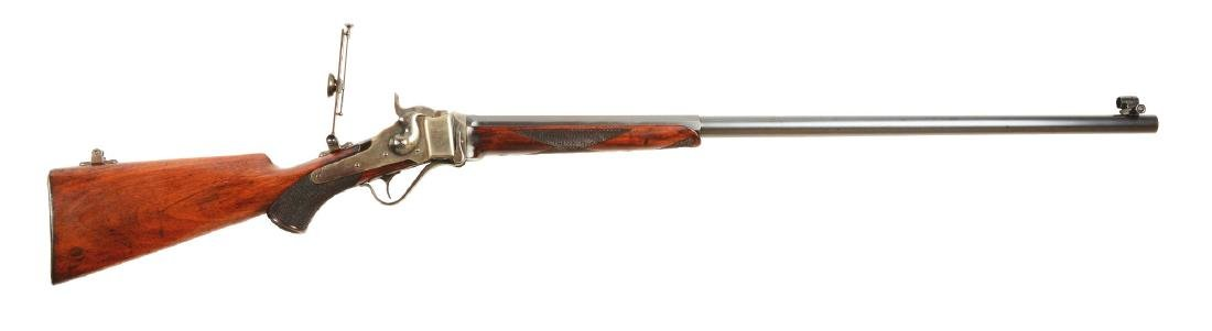 (A) Sharps Model 1874 No. 2 Long Range Single Shot