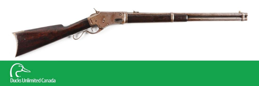 (A^) Whitneyville Armory .45-60 Lever Action Carbine.
