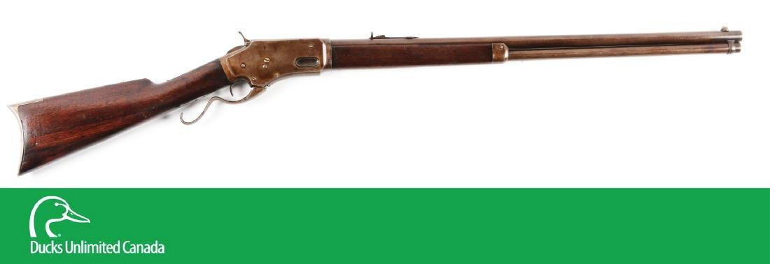 (A^) Whitneyville Armory .45-60 Lever Action Rifle.