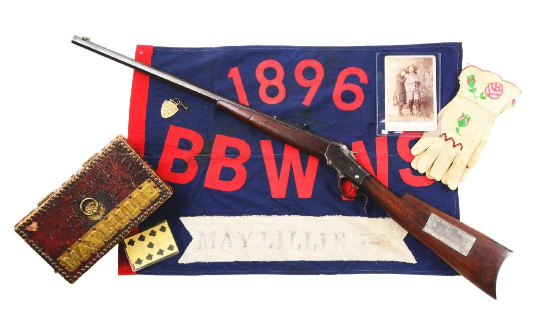 (A) Winchester 1885 Low Wall & Grouping Attributed to