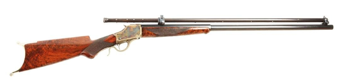 (A) Near Mint Winchester Model 1885 High Wall Deluxe
