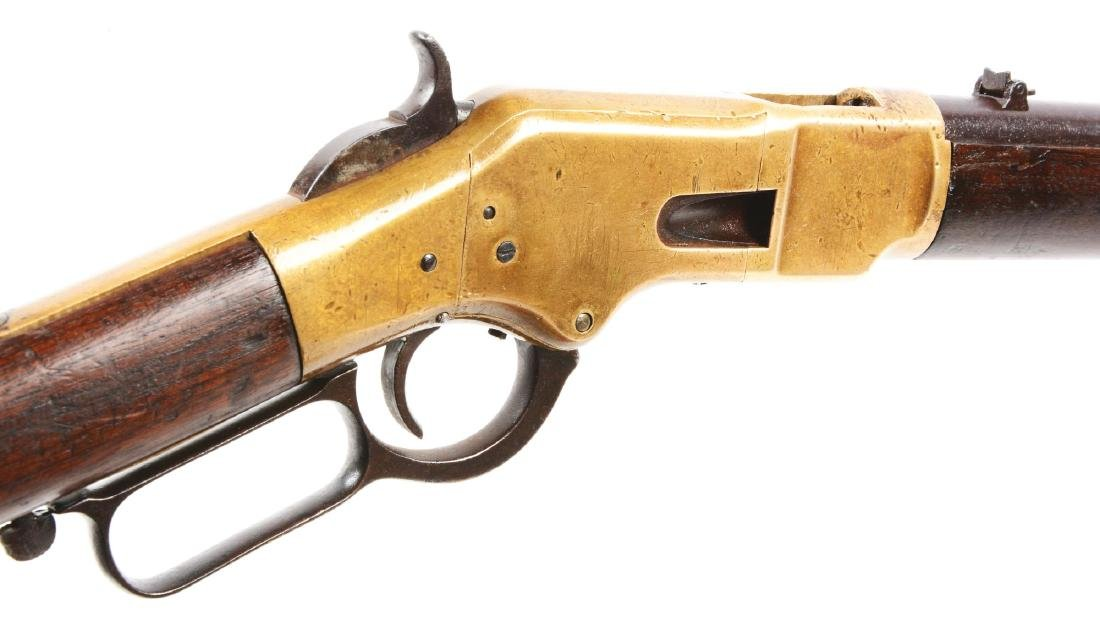 (A) Winchester Model 1866 Saddle Ring Carbine. - 5