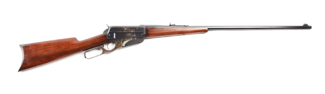 (A) Winchester Model 1895 Lever Action Rifle.
