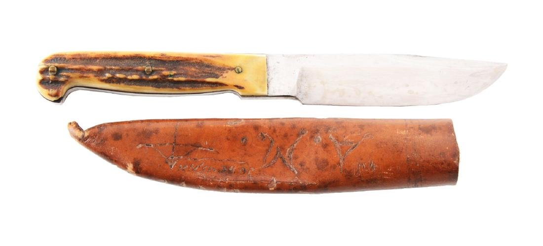 """M.S.A. Co. Gladstone """"Special"""" Fixed Blade Knife."""