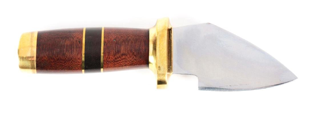 J.N. Cooper One of a Kind Fixed Blade Short Cleaver.