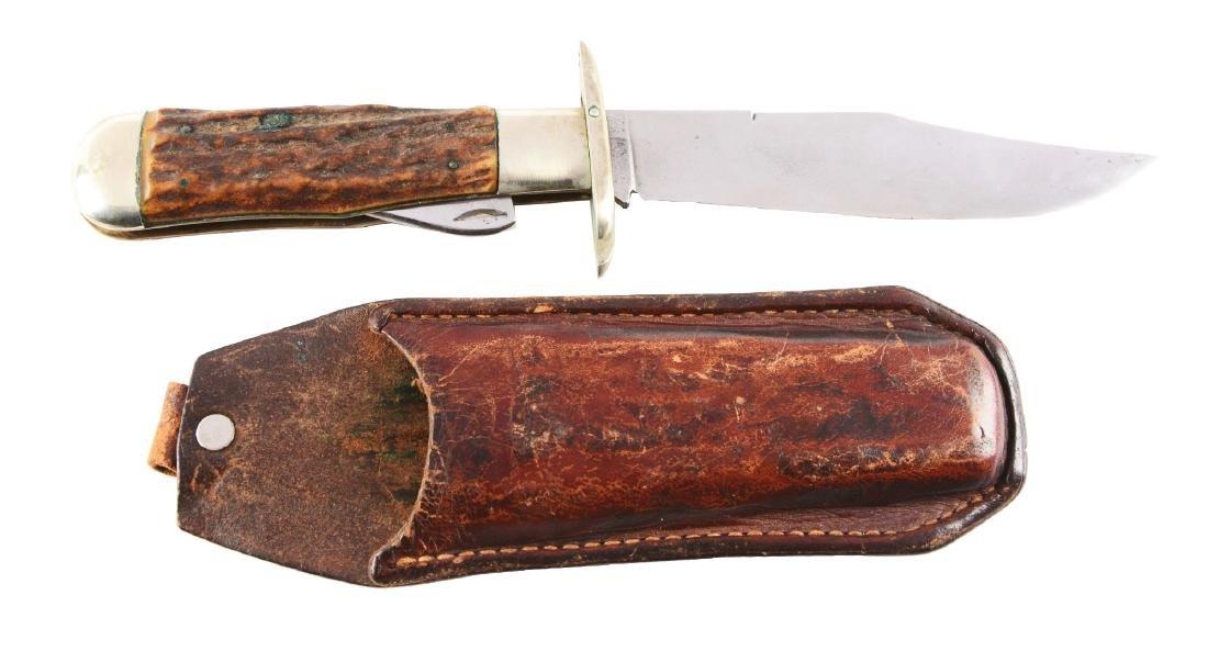 Marbles Gladstone Folding Safety Hunter Knife.