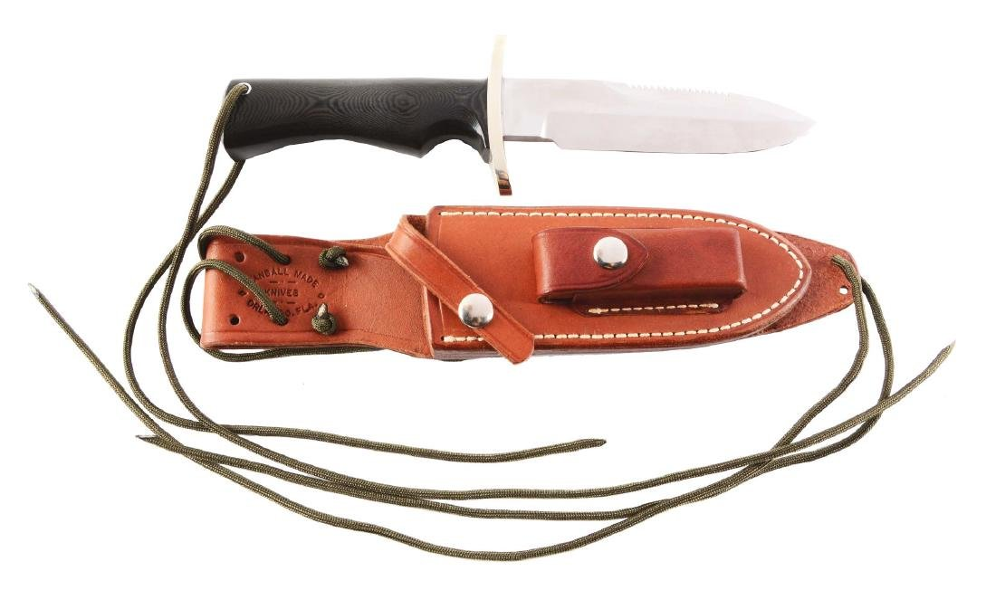 Randall Made Orlando, Fla. Fixed Blade Survival Knife.