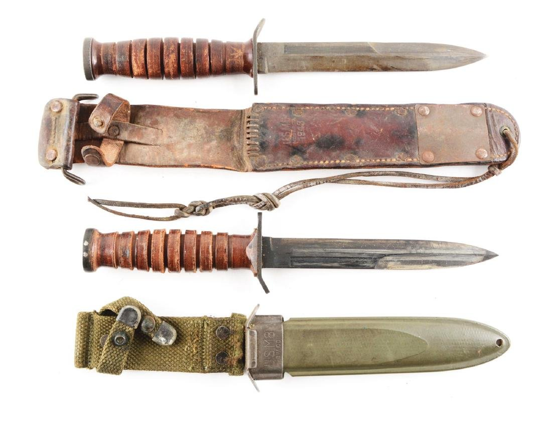 Lot of 2: Trench Knives.