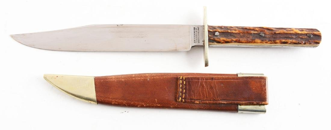 J. Rodgers & Sons Bowie Style Hunting Knife. - 2