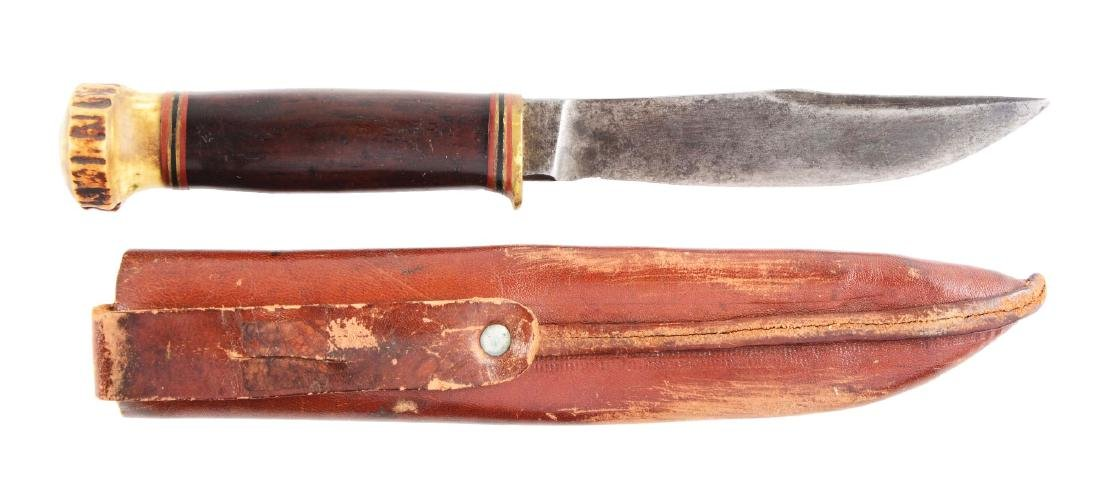 """Marbles """"Expert"""" Fixed Blade Knife."""