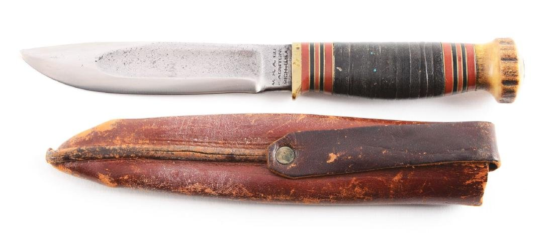 """M.S.A. Co. Gladstone """"Ideal"""" Fixed Blade Knife. - 2"""