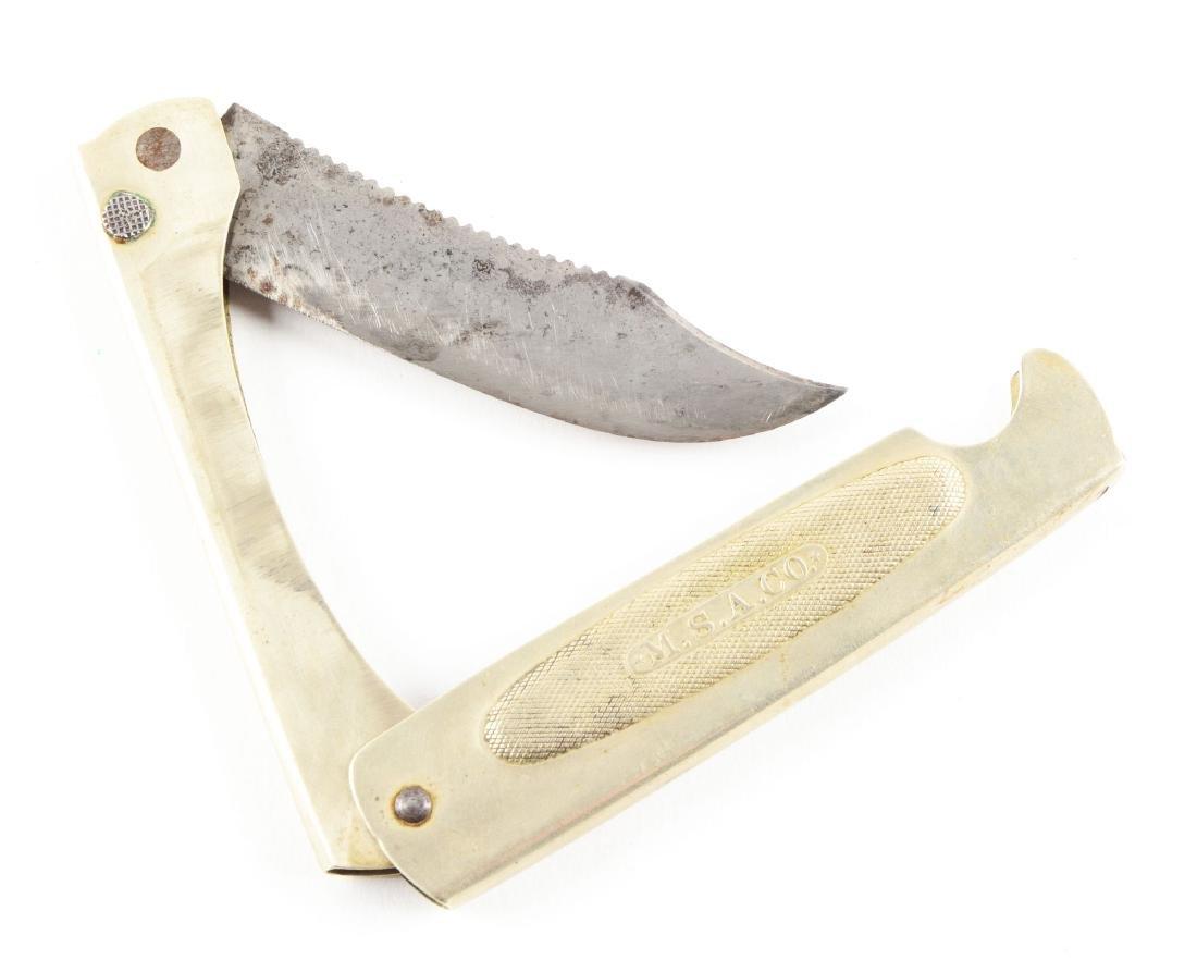 """M.S.A. Co. Folding """"Safety Fish Knife"""". - 2"""
