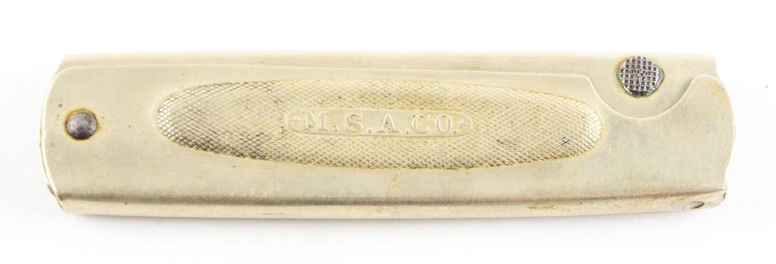 """M.S.A. Co. Folding """"Safety Fish Knife"""". - 3"""