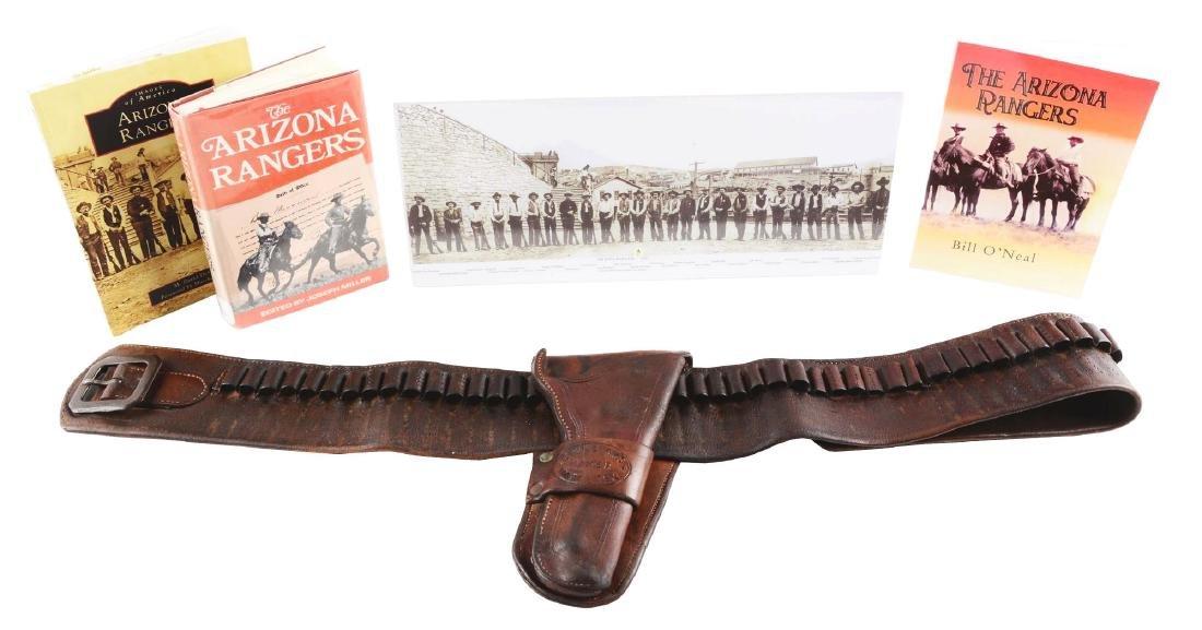 Maker Marked & Documented Arizona Ranger Money Belt &