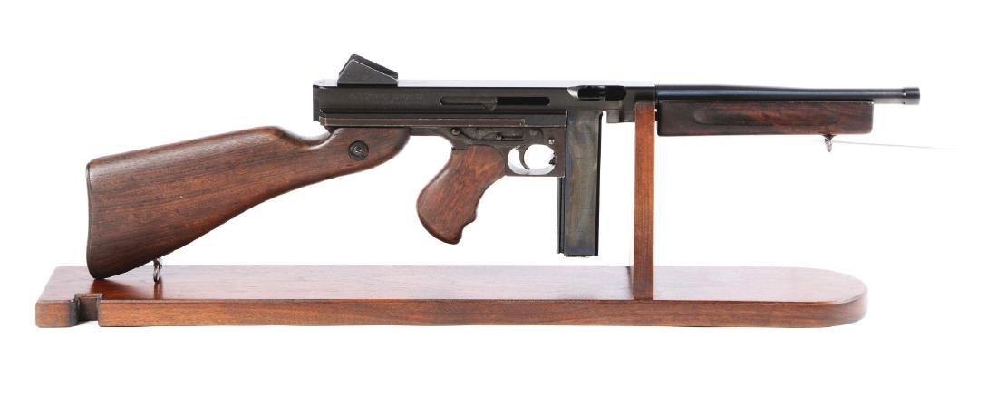Thompson M1 Machine Gun Display with 80 Percent