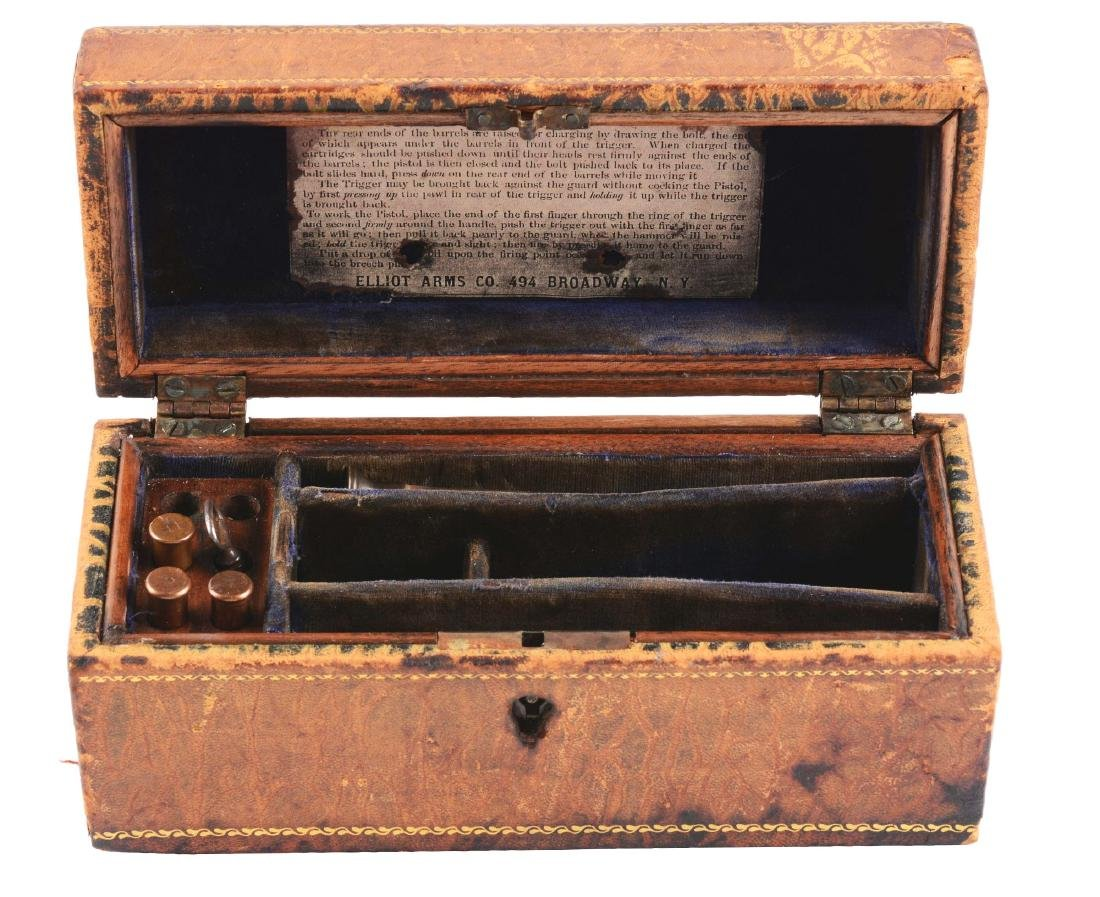 Presentation Box For Remington Elliot Pistol.