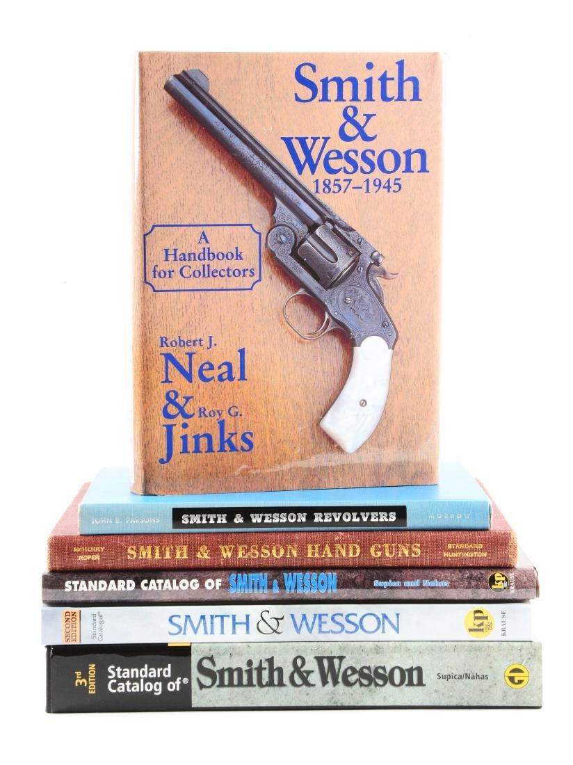 Lot of 6: S&W Books.