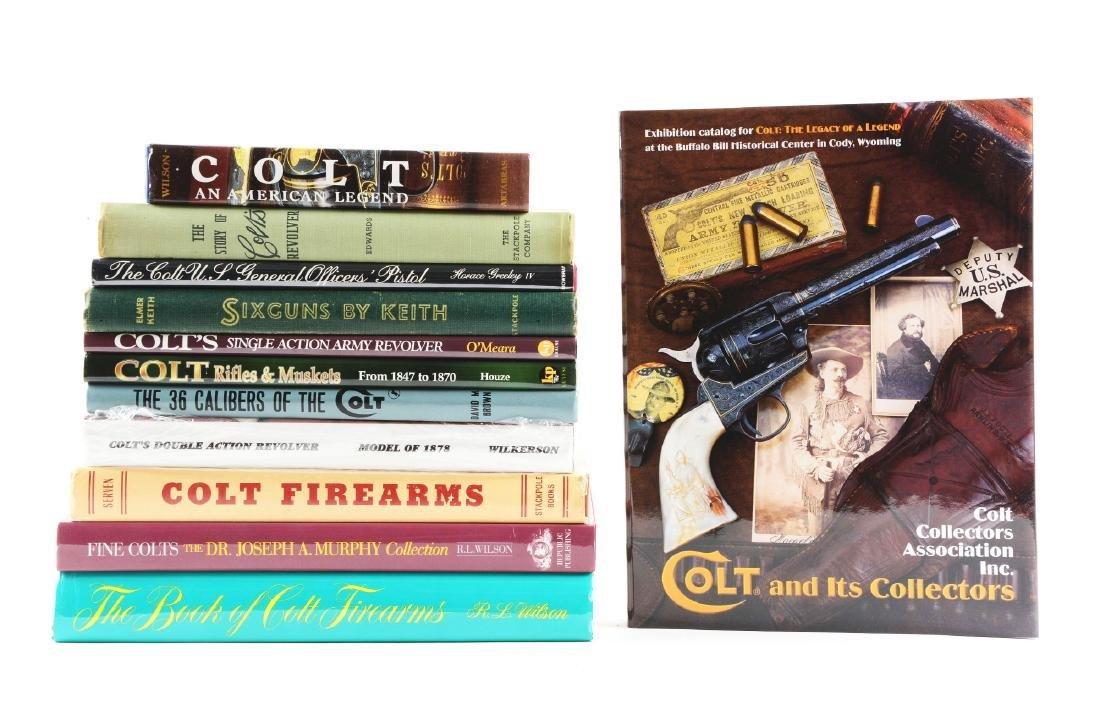 Lot of 12: Gun Books.