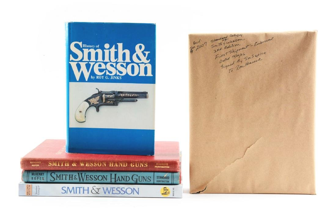 Lot of 5: S&W Gun Books.