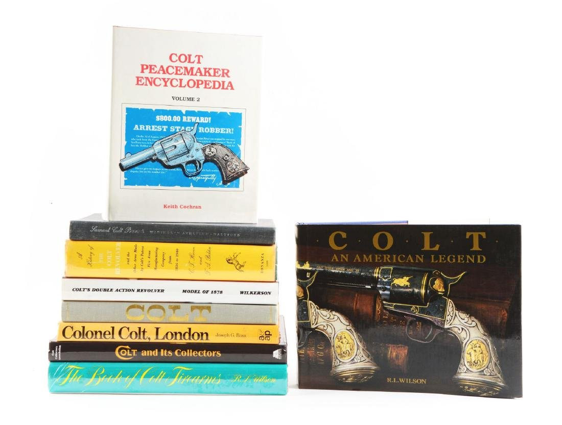Lot of 9: Colt Books