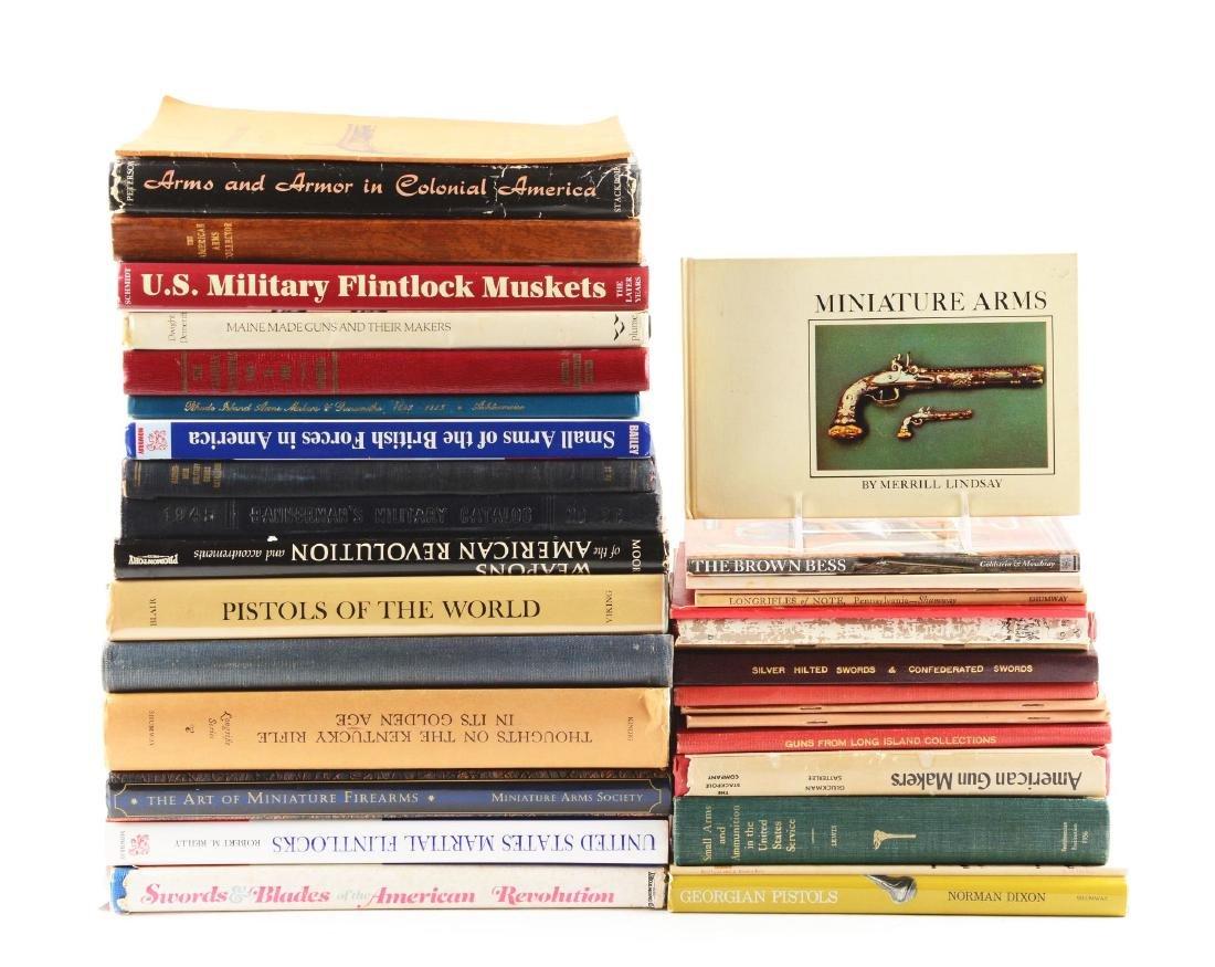 Lot of 34: Books on Flintlocks.