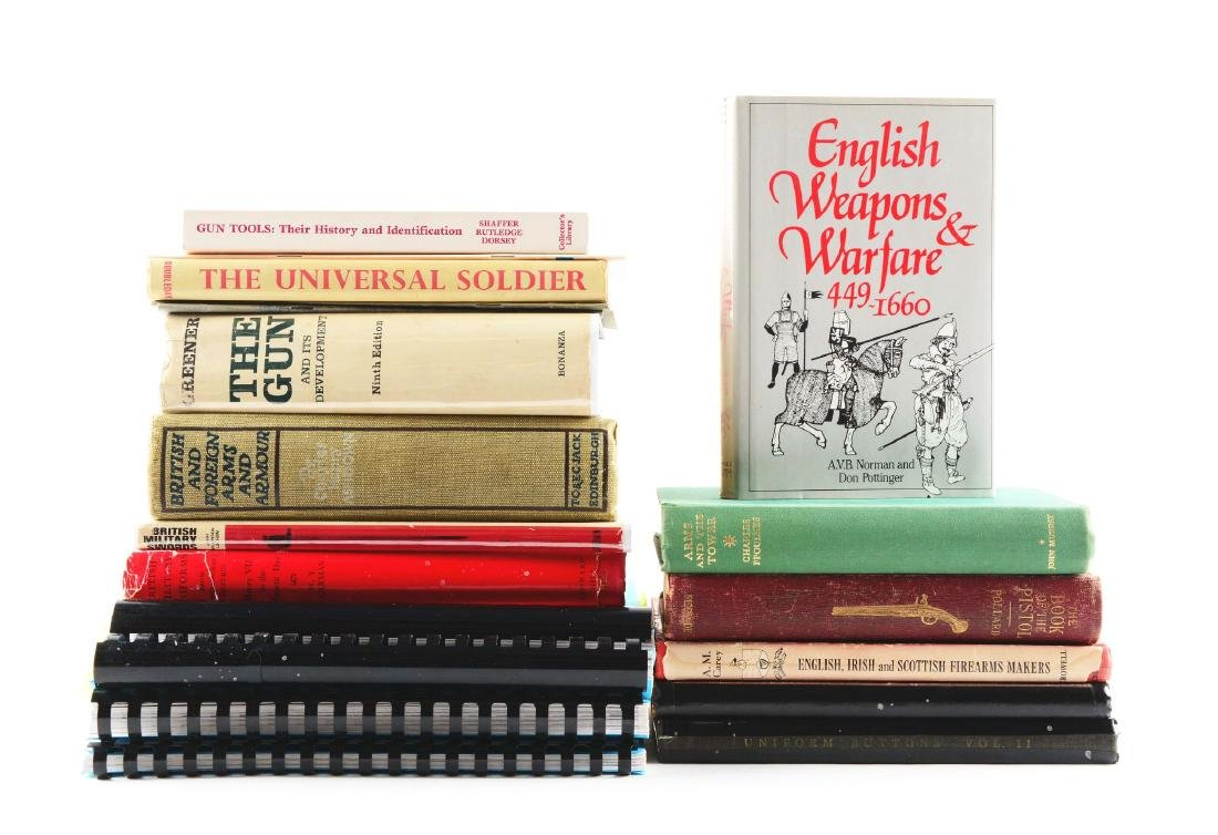 Lot of 22: Books on European Arms & Armor.