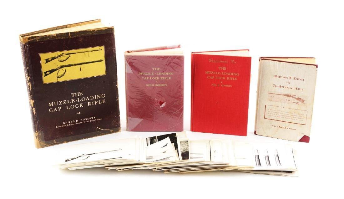 Lot of 5: Four Books & Original Photographs.