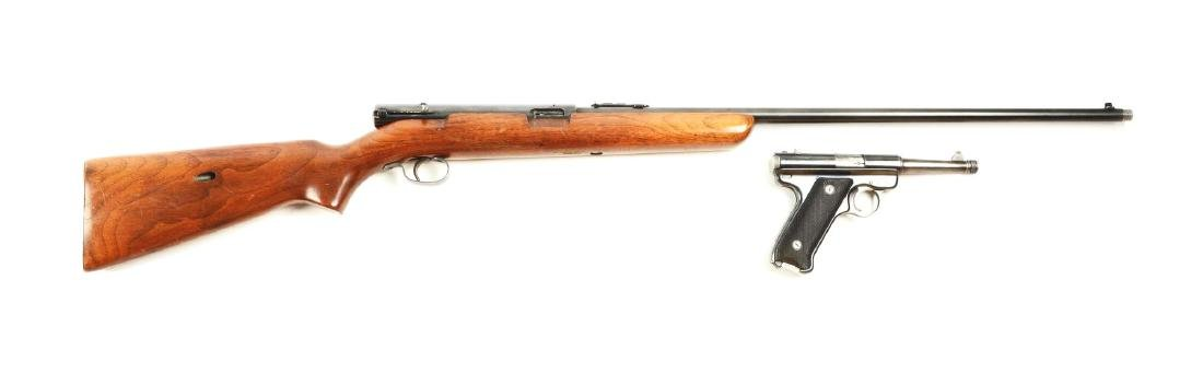 (C) Lot of 2: .22 Semi-Automatic Pistol &
