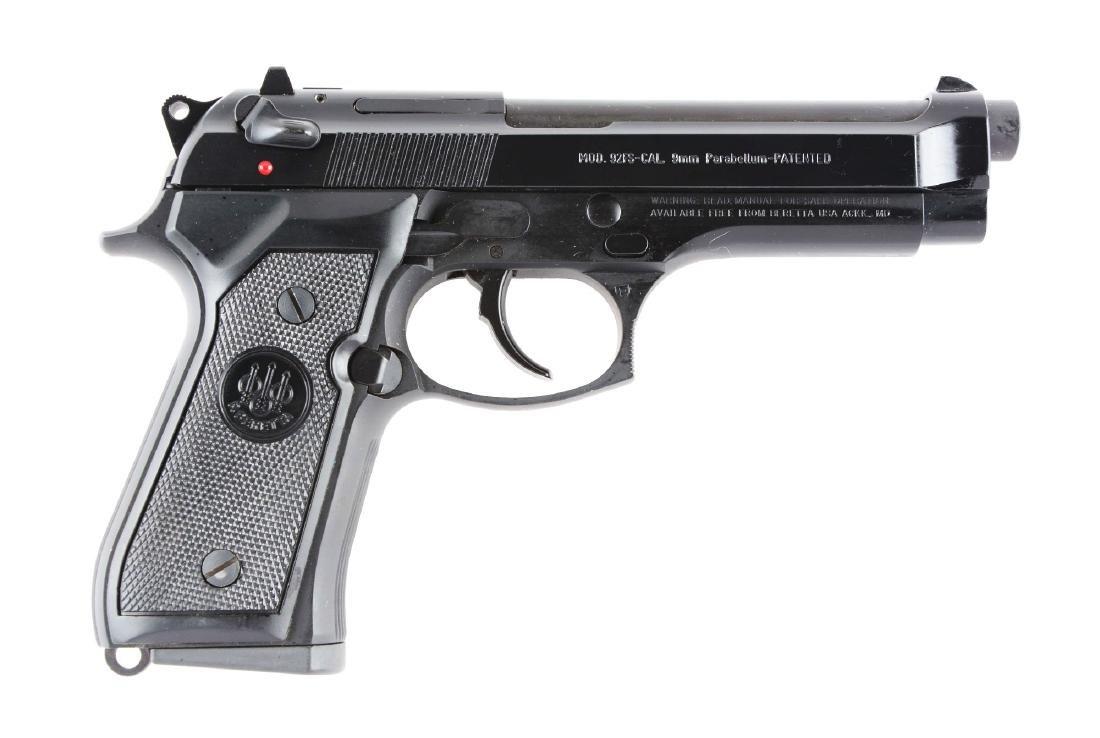 (M) Boxed Beretta Model 92FS Semi-Automatic Pistol.