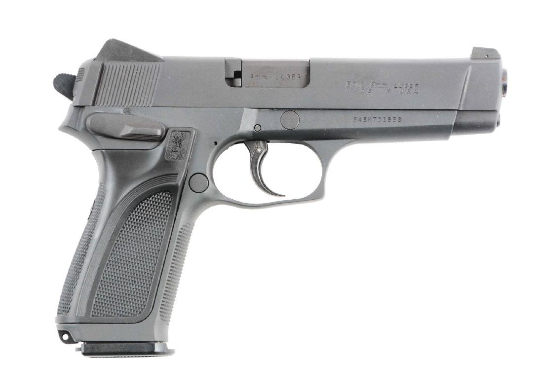 (M) Browning Double Action Semi-Automatic  Pistol.