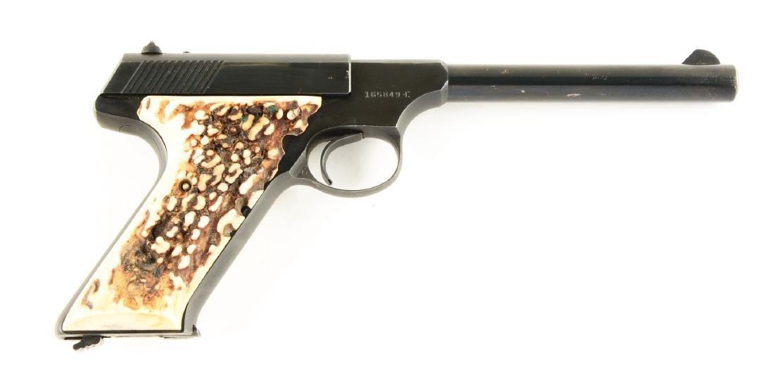 (C) Colt Huntsman Semi-Automatic Pistol.