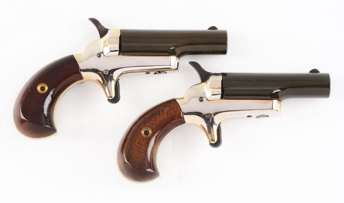 (C) Lot of 2: Cased Colt 4th Model Deringers. - 3