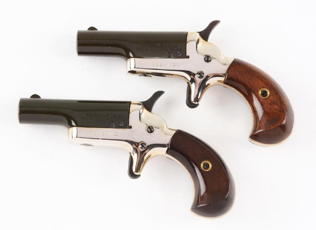(C) Lot of 2: Cased Colt 4th Model Deringers. - 4