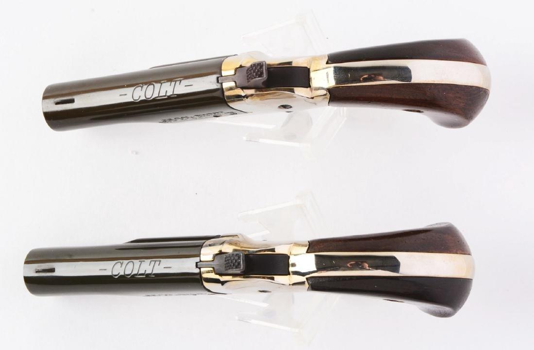 (C) Lot of 2: Cased Colt 4th Model Deringers. - 5