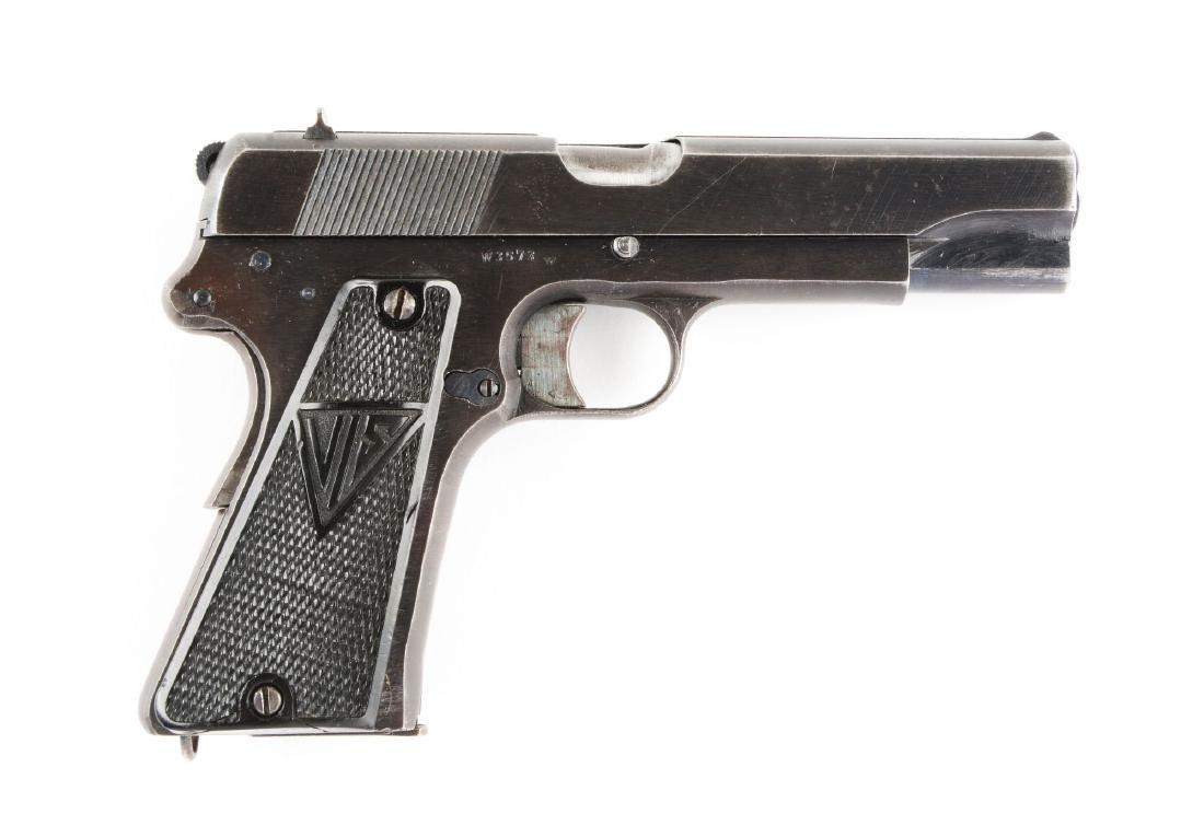 (C) Nazi Marked F.B. Radom VIS Model 35 Semi-Automatic