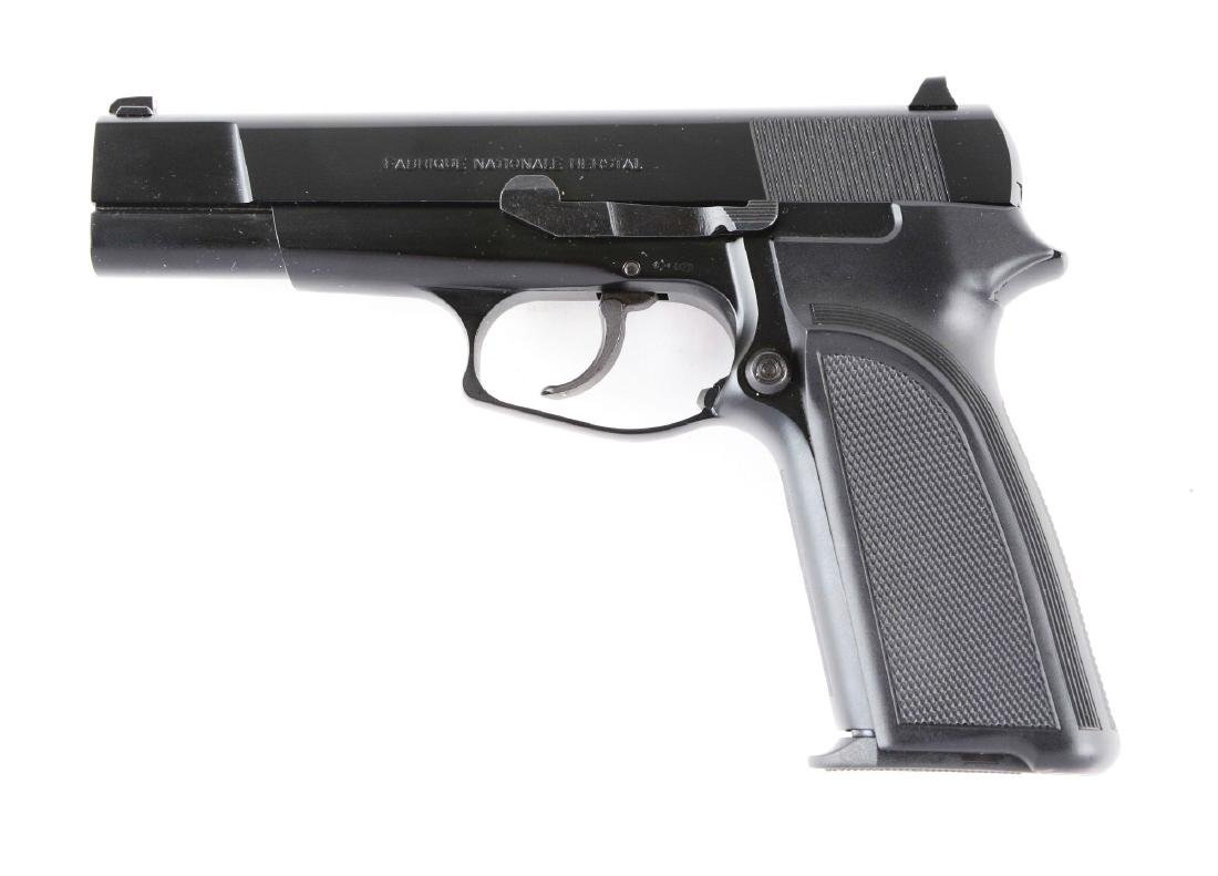 (M) MIB Browning BDAO Hi-Power Semi-Automatic Pistol. - 2