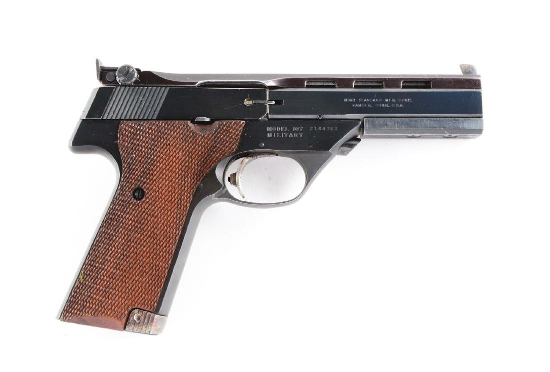 (M) High Standard Supermatic Semi-Automatic Pistol.