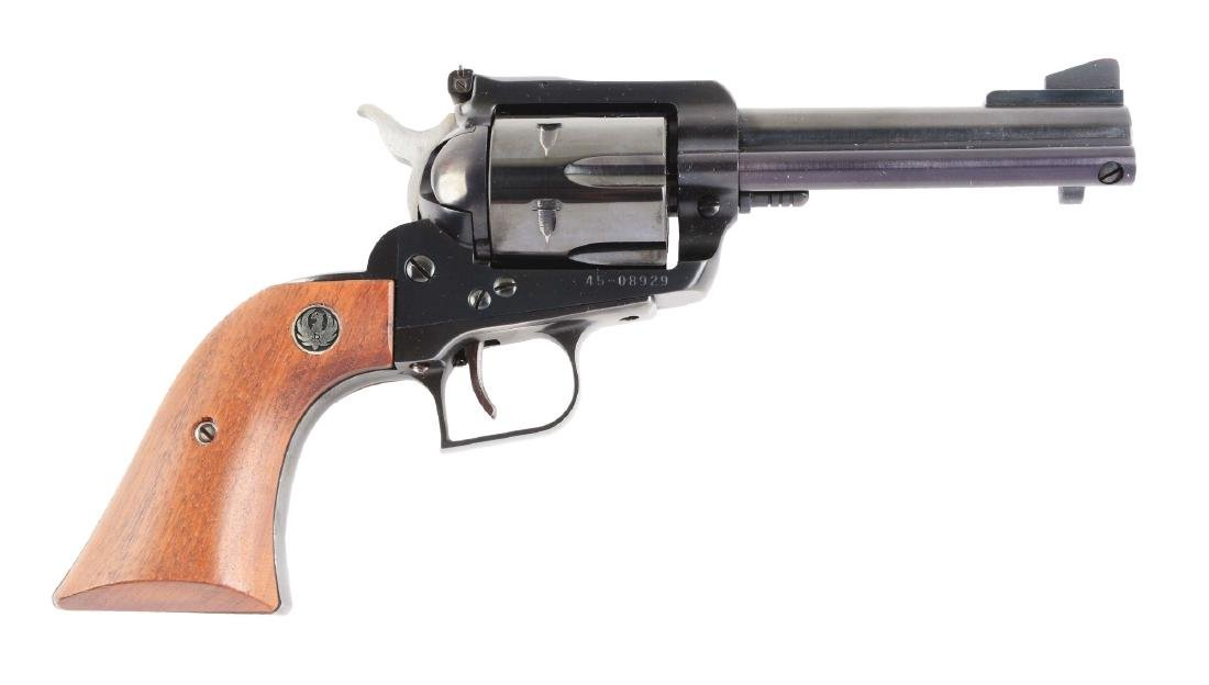 (M) Boxed Ruger Blackhawk Single Action Revolver.