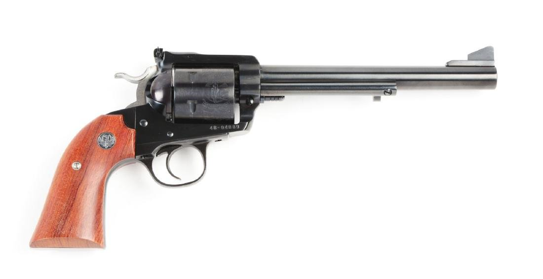 (M) Ruger Bisley New Model Blackhawk Revolver.