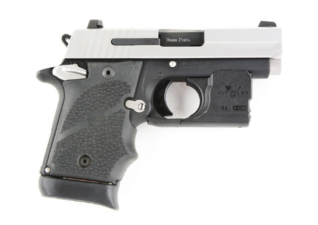 (M) Boxed Sig Sauer Model P938 Semi-Autmatic Pistol