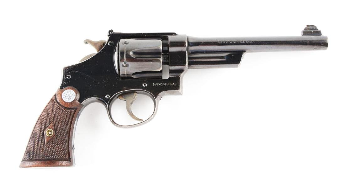 (C) Pre-War Smith & Wesson .38-44 Outdoorsman Double