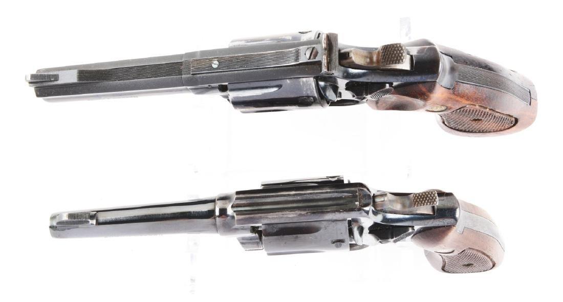 (C) Lot of 2: S&W Model 19-3 & Model 10-5 Double Action - 3