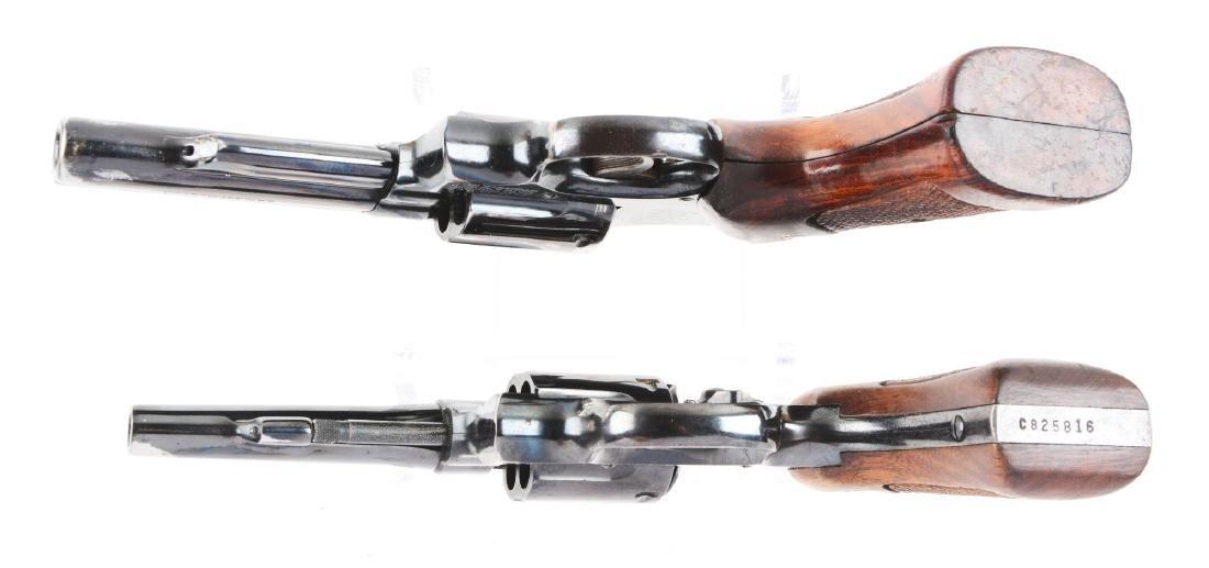 (C) Lot of 2: S&W Model 19-3 & Model 10-5 Double Action - 4