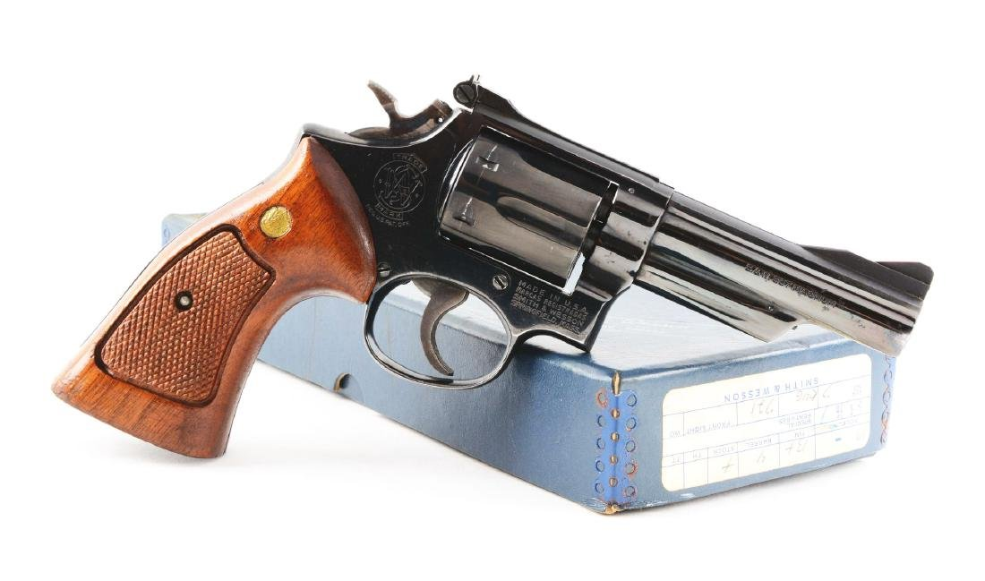 (M) Boxed S&W Model 19-3 Double Action Revolver.