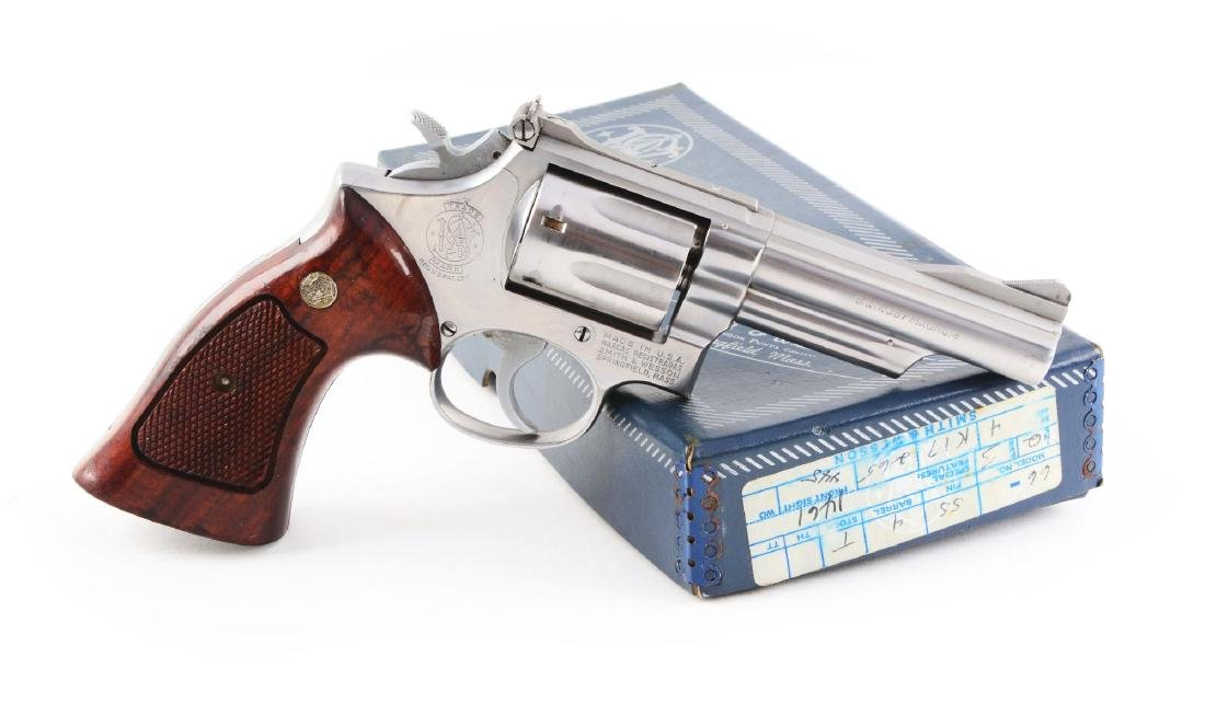 (M) Boxed S&W Model 66 Double Action Revolver.