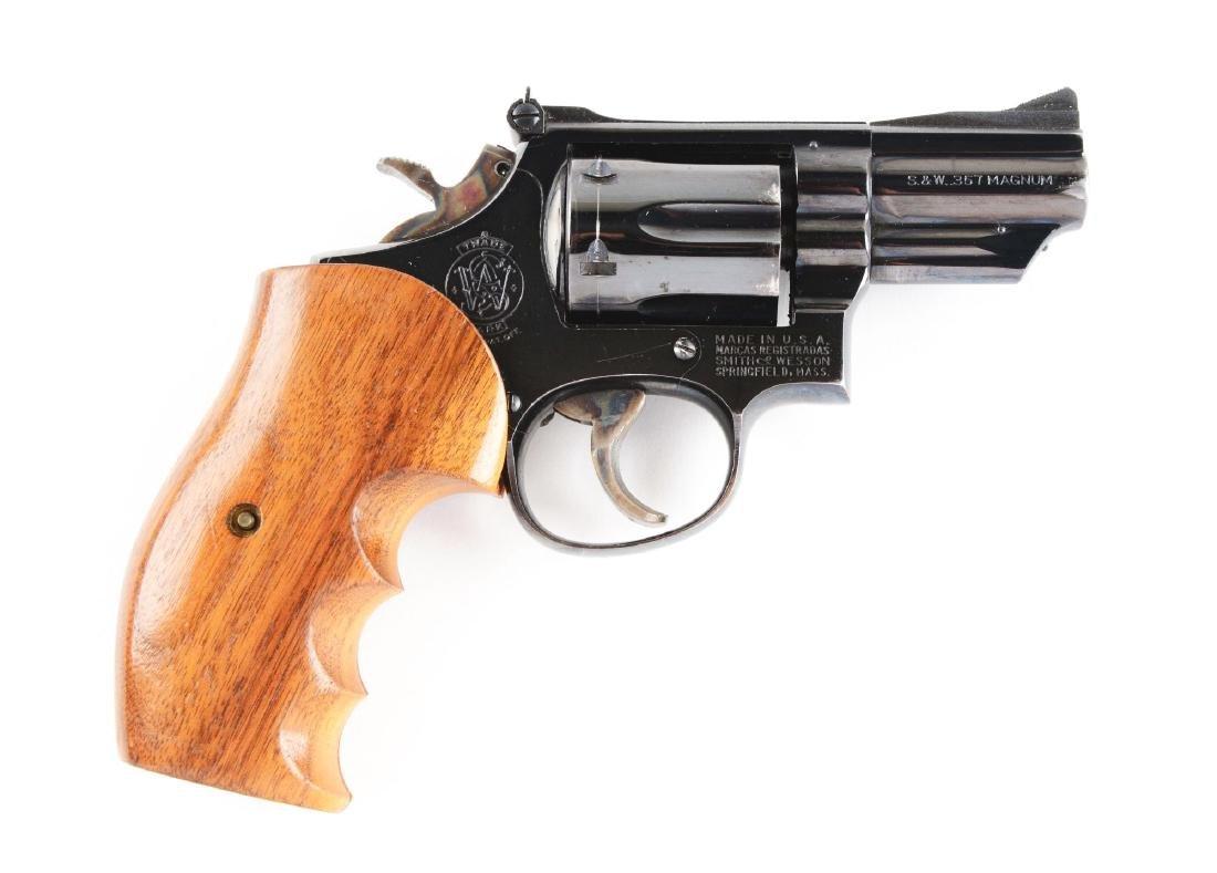 (C) S&W Model 19-2 Double Action Revolver.