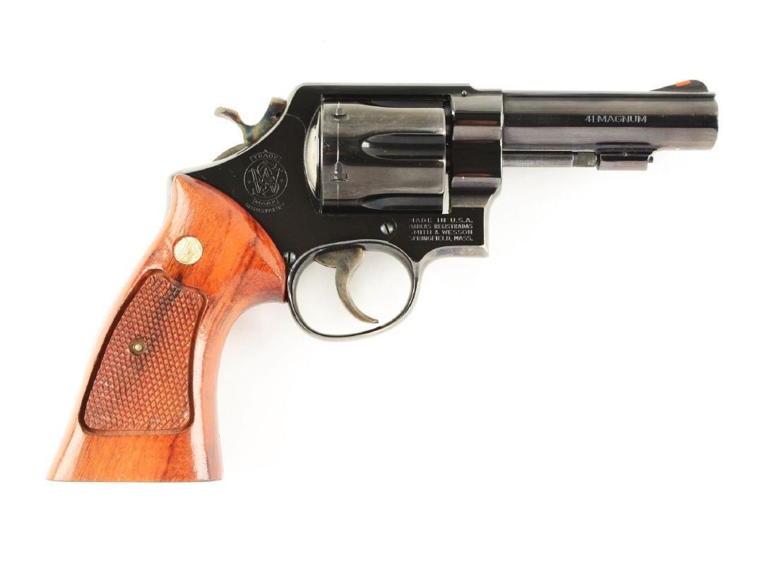 (M) S&W Model 58 Double Action Revolver.