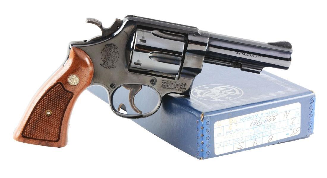 (M) S&W Model 58 Revolver.