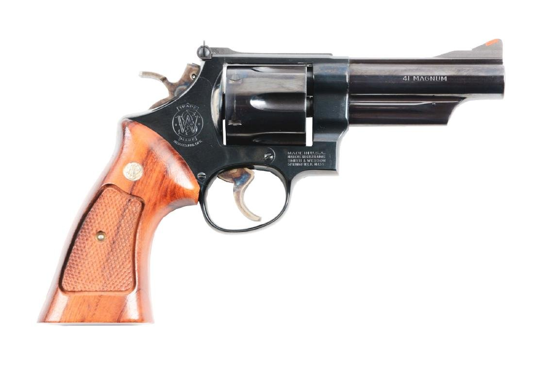 (M) Smith and Wesson Model 57 Revolver.